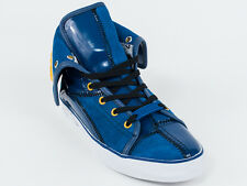 New  Galliano Blue Suede Sport Shoes Size 38 US 5 Retail $440