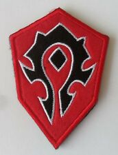 NEW FOR World of Warcraft horde Badge   patch    SJ+    205