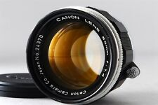 【EXC+++++】Canon 50mm F1.4 Leica Screw Mount LTM L39 Lens from Japan #307
