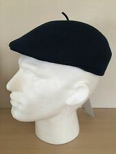 PAUL SMITH NAVY BLUE 100% WOOL UNISEX STRUCTURED BERET/CAP SIZE MEDIUM