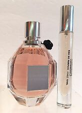 FLOWERBOMB VIKTOR & ROLF TRAVEL DELUXE SAMPLE ATOMIZER SPRAY PERFUME .33oz(10ml)