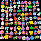 100PCS COLOURFUL RUBBER CHARMS FOR MIX LOOM BANDS BRACELET XMAS GIFTS