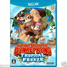 Donkey Kong Tropical Freeze NINTENDO WII U JAPANESE NEW JAPANZON