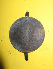 Rondache,attribut, insique casque ADRIAN Justice Militaire,2ème Guerre mondiale.