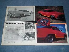 "1967 VW Karmann Ghia Vintage Article ""Third Time Around"""