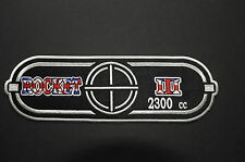 "Triumph Rocket 111 rocket 3 roadster rocket iii union jack back patch 12"" x 4"""