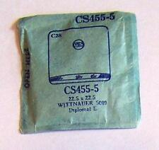 Vintage NOS G-S Crystal CS455-5 for WITTNAUER 5009 Diplomat L 22.5 x 22.5 mm