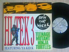 "HI TEK 3 feat. YA KID K - SPIN THAT WHEEL - MAXI-SINGLE 12"" U.S.A."