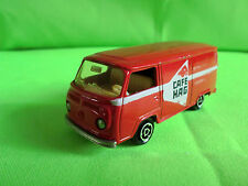 MAJORETTE VW BUS 244 -  CAFE HAG -  VOLKSWAGEN     RARE SELTEN IN GOOD CONDITION