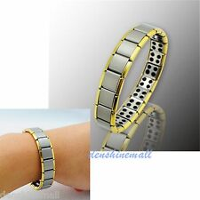 HOT!!! 80 Germanium Titanium Energy Bracelet Power Bnagle Pain Relief for gift