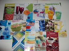 Tupperware Catalogs and Sales Flyers Brochures Lot A 15 Pieces