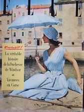 ELLE n°452 (9 août 1954) Duchesse de Windsor - Vacances en Corse
