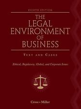 Legal Environment Of Business by Cross