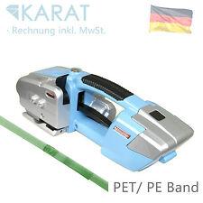 Batteria Reggiatrice Elettrico reggiatrice per PP PET Nastro fino a 16 mm