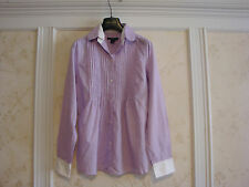 NWT GAP WOMENS TOP SHIRT BLOUSE 2 LAVENDA