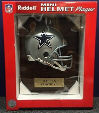 DALLAS COWBOYS RIDDELL NFL FOOTBALL HELMET PLAQUE FREE SAME DAY SHIPPING