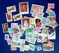 Lot de 50 timbres oblitérés Roumanie (Posta Romana)