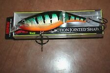 "5 1/4"" X-Rap Jointed Shad Rap Normark Rapala Perch XJS13-P Crankbait Musky Pike"
