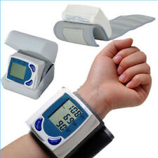 Digital LCD Wrist Blood Pressure Monitor Heart Beat Rate Meter Measure Machine U