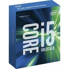 Intel Core i5 6600K 1151 6MB Cache 3,5GHz boxed o. Khler!