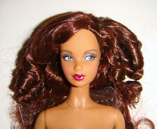 Nude Barbie Doll Long Curly Hair AA Model Muse Barbie Dolls For Ooak mn901j