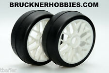 1:8 Sintec GT Rubber Slick White Spoke Rim S054 40 shore Free shipping