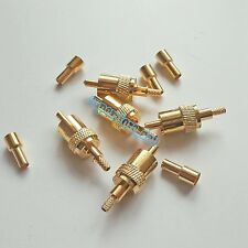5X RCA male plug crimp For RG174 RG316 LMR100 cable straight RF Connector