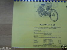 M0600 MAGNEET---TECHNICAL INFO---A50-MODELYEAR ABOUT-- 1952