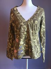 Theory women top talavyn B army sz L $215