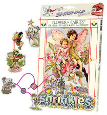 FLOWER FAIRY FAIRIES STRADA & alfabeto SHRINKLES SHRINK ART PARAURTI SCATOLA MATITE