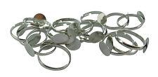 Lot de 50 Support bagues pour fimo reglables reglable bague création bijoux