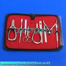 Professional Quality nail Manicure Kit Tools SET 9 Pieces