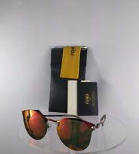 Brand New Authentic Fendi FF 0040/S Sunglasses CEMUZ Red Fire Iridium Lenses