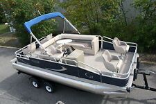 Factory direct pontoon boats-New 20 ft Grand Island Partyfish  with 25 hp and tr