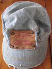 Men's levi's 501 denim cap
