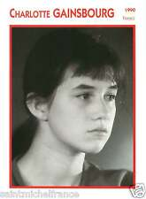 CHARLOTTE GAINSBOURG ACTRICE ACTRESS FICHE CINEMA FRANCE 90s