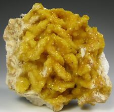 Turkey Fat SMITHSONITE after Dolomite crystals * Rush County * Arkansas