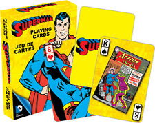 DC Comics - Retro SUPERMAN playing cards brand new sealed