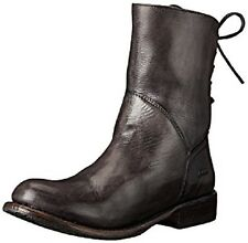 NEW Bed Stu women's Leather cheshire Black GLaze ankle Boots size 11