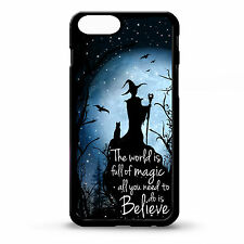 Cover for Iphone 6 plus Soreceress magic witch quote phrase moon art rubber case