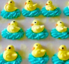 ROYAL ICING SWIMMING DUCK CAKE AND CANDY DECORATION,Easter Eggs, Cupcakes, CUTE!
