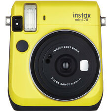 Fujifilm Instax Mini 70 Instant Fuji Film Camera (Canary Yellow)