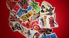 50 mini lego ninjago autocollants en vinyle Sac de fête charges