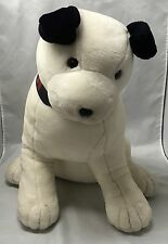 "1993 DAKIN Large 25"" Plush RCA NIPPER DOG Jumbo Bull Terrier EUC Stuffed Animal"