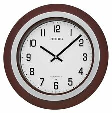 *BRAND NEW* Seiko Round White Dial Clock Watch QXM547BLH