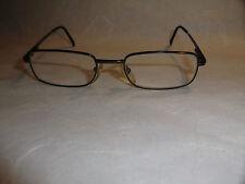 Brille kultige Brille 80´er selten Sammeln Metallgestell Federscharniere Art