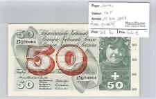 BILLET SUISSE - 50 FRANCS 15-5-1968 - BELLE QUALITE!!!!