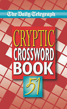 The Daily Telegraph Cryptic Crossword Book: No. 51 BRAND NEW BOOK (Paperback)
