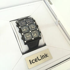 100% Authentic IceLink 6 Time Zone Diamond Women's Watch