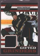 RYAN GETZLAF 2010-11 ZENITH GIFTED GRINDERS JERSEY PATCH DUCKS /299 $15